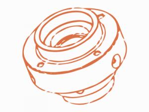 Гидровтулка FABA типа TDK для монтирования