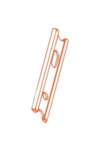 Пластины для обработки дерева FABA с двумя лезвиями