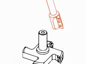 Фрезерная головка FABA FTS-07.01 со сменными ножами