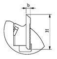 Чертеж для ножей для профилирования FABA GP-01