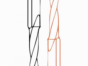 Сквозные сверла FABA WN-01 с напайкой HM