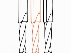 Сквозные монолитные сверла FABA WN-02