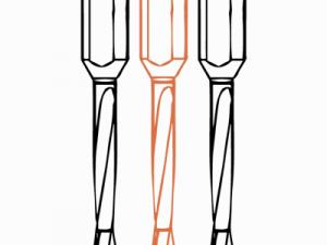 Специальные сверла FABA WP-35 для сверления